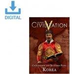 Civilization 5: Civilization and Scenario Pack – Korea
