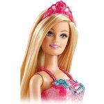 Barbie princezná meniteľné prvky blond fialová BCP17