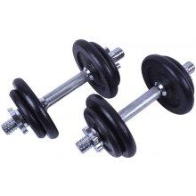 Sportago Fader Set jednoručních nakládacích činek 2x10 kg