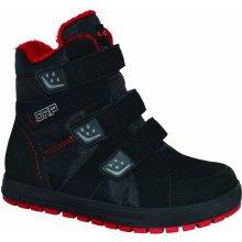 Detské zimné topánky Loap Manic / Farba čierna