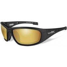 Wileyx BOSS Venice Gold Mirror Matte Black Frame