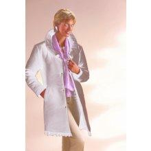 Blancheporte Kabát s volánikom čokoládová
