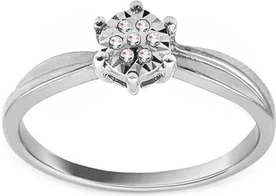 a74a83fbf iZlato Design Zásnubný prsteň z bieleho zlata s diamantmi Baina ROYBR039A  alternatívy - Heureka.sk