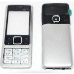 Kryt Nokia 6300 strieborný
