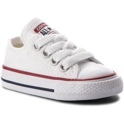 d9aa56a956c CONVERSE CHUCK TAYLOR ALL STAR INFANT OX \ Optical White alternatívy ...