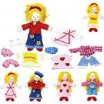 Goki Malá obliekacia bábika Karry
