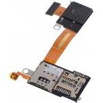 Sony D2303 Xperia M2 - Flex kabel SIM/SD karty - 78P7170002N