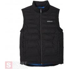 Adidas Originals pánská prošívaná stylová vesta PRAEZ SYNT Vest Černá AB7869