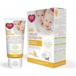 Splat Baby prírodná zubná pasta pre batoľatá 0 až 3 roky Vanilka 40 ml