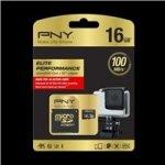 PNY MicroSD Class 10 16GB SDU16G10ELIPER-EF