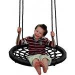 Woody Hojdací kruh čierny priemer 85cm