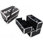 ISO Kufrík kozmetický XL 36x25x24 cm Black