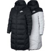 53378486b Nike Sportswear Windrunner dámská bunda parka čierna/biela