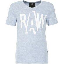 G-Star Raw Tričká s krátkym rukávom FULER modrá