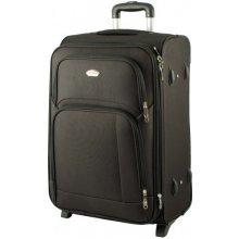 SUITCASE 91074 cestovný kufor malý 37x25x54 cm Černá