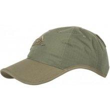 575075f1f230 HELIKON Logo Cap PolyCotton Ripstop Baseball šiltovka Olivová   Adaptive  green