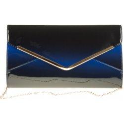 b36ad301e12 lakovaná listová kabelka K-2061 / modrá čierna alternatívy - Heureka.sk