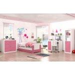 ArtAJ Detská izba FILIP COLOR so zásuvkou biela ružová