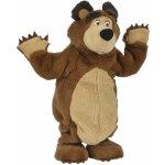 Simba 109308236 Máša a medveď Plyšový tancujúci medveď 35 cm