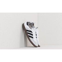 adidas samba primeknit calzino bianco / nero / blu ftw nucleo uccello e 117