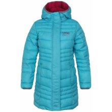 Loap dievčenské prešívaný kabát Urzika modrý