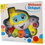 EURO BABY Interaktívna hračka s melódiou Keyboard Chobotnice