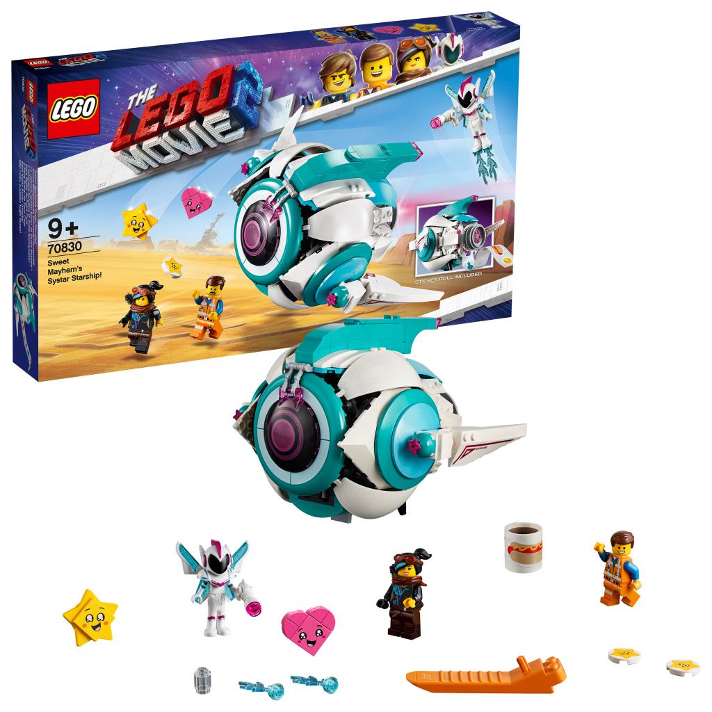 5c6c5df4a LEGO Movie 70830 Hviezdna loď generálky Mayhem! od 54,86 € - Heureka.sk