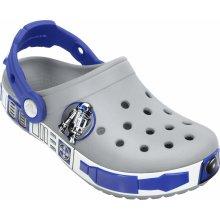 Crocs Star Wars R2D2 Clog Light Grey/Cerulean Blue