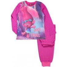 E plus M Dievčenské pyžamo Trollovia ružové