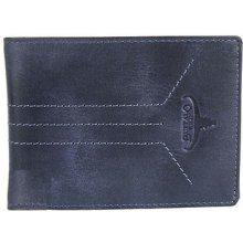 09d996803 Buffalo Wild Pánska kožená peňaženka modrá