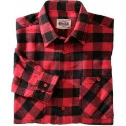 3c5d58bba663 Blancheporte Kockovaná flanelová košeľa červená čierna od 13