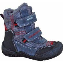 Protetika Chlapčenské zimné topánky Rolo šedo-modré 988247bcfe7
