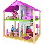 Simba Drevený domček pre bábiky s prísl.
