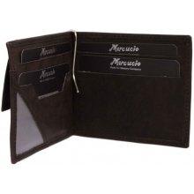 Pánska kožená peňaženka dolárovka 2311786 čierna