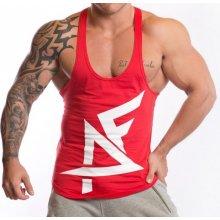 Aesthetic Fitness Športové tielko pánske červeno-biela