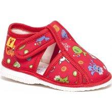 2dac3511cc RAK Detské papuče 100015 Červené more