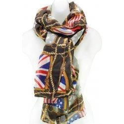 Luxusný šál s anglickou vlajkou BLACK alternatívy - Heureka.sk 816f256440