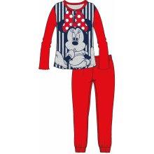 Disney by Arnetta Dievčenské pyžamo Minnie červené