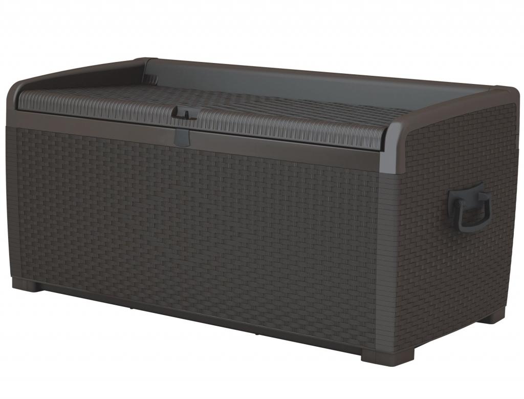 KETER XL Rattan Style Storage Box Foto 1