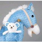 MILLY MALLY Hojdací koník Pony Figaro Hnedá
