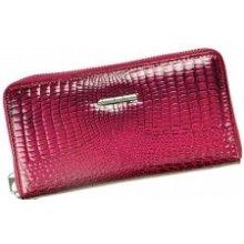 495806eab6 Jennifer Jones Veľká Dámská kožená peňaženka fialová