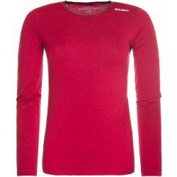 d5725da6e230 HUSKY MERINO long sleeve zip dámske termotričko so zipsom červené od ...