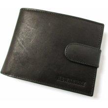 New Berry pánska peňaženka z bravčovej kože 885 čierna 6c0ca1fb26a
