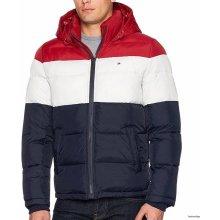 9a1b2c934 Tommy Hilfiger bunda s kapucí Quilted jacket tmavě modrá