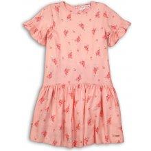 51a524689b0c Minoti Peachy 11 Šaty dievčenské bavlnené růžová