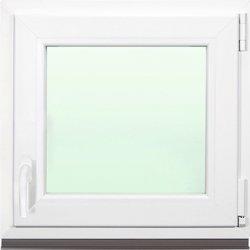 Plastové okno Aron OS1 90 x 90 cm pravé, biele