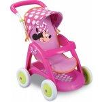 SMOBY 510133 Minnie kočík Chuli pop car športový, výška rúčky 55 cm, 60*36*70 cm