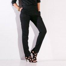 Blancheporte Jednofarebné vzdušné nohavice čierna