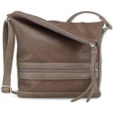 Elegantní crossbody kabelka Smirne Crossover Bag Chestnut Comb. 1991152-328 Tamaris