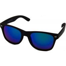 Wayfarer čierne matné blue